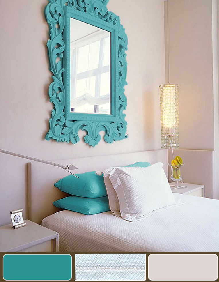 Bedroom decorating ideas turquoise - Decorsart