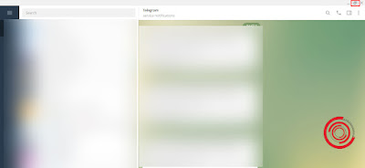 Untuk mengecilkan tampilan layar aplikasi Telegram desktop silakan kalian klik tombol Restore Down