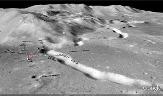 (Fotoğraf: Nasa, Google Moon[36])