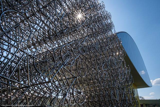 """""""Bicicletas Forever"""", instalação de Ai Weiwei"""