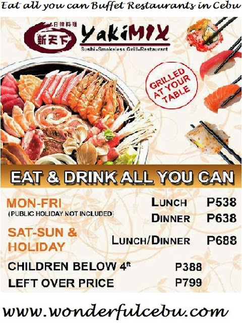 Yakimix Eat all you can in Cebu
