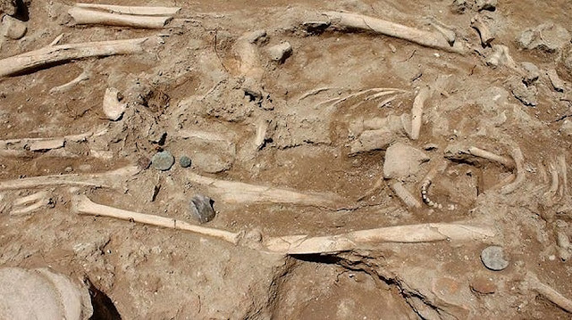 Large Roman tomb unearthed in south Italian town of Ugento