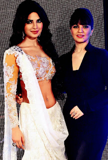 Priyanka-Chopra-White-Ghagra-dress