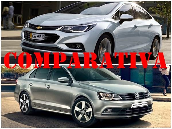 Comparativa Chevrolet Cruze 2 LTZ - Volkswagen Vento 1.4 Comfortline