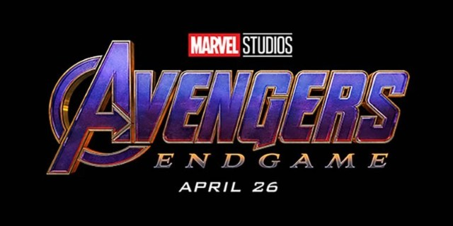 Nuevo logotipo púrpura y dorado para Endgame que recuerda al propio Thanos