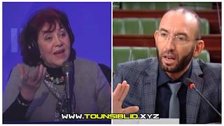 (بالفيديو) الممثلة جودة ناجح على إذاعة IFM أتمنى أن يتم اغتصاب ابنة او أخت محمد العفاس.