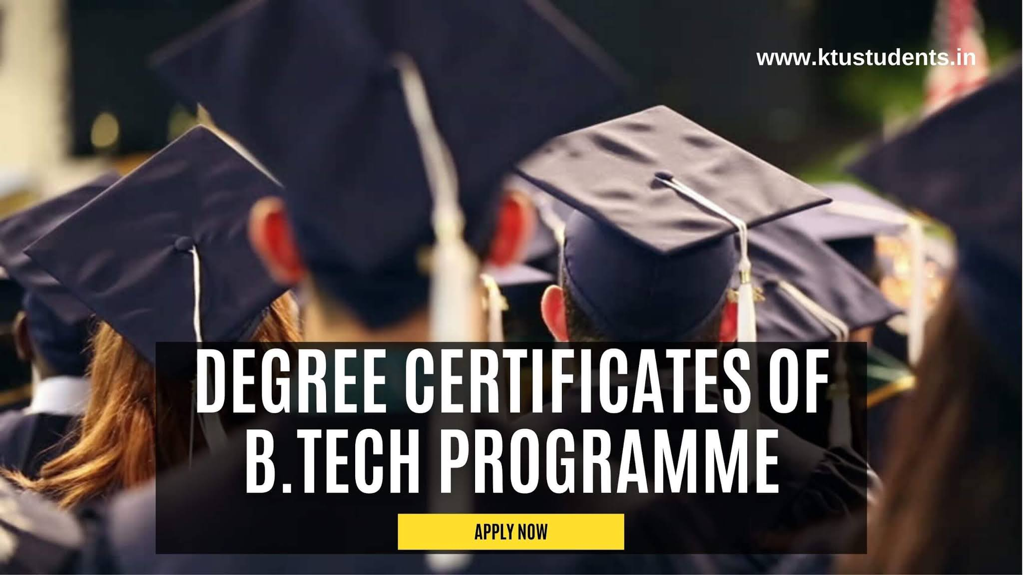 ktu engineering degree certificate 2021