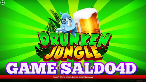 Game Slot Drunken Jungle Spade Gaming