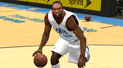 NBA 2K14 Al Jefferson Cyberface Patch