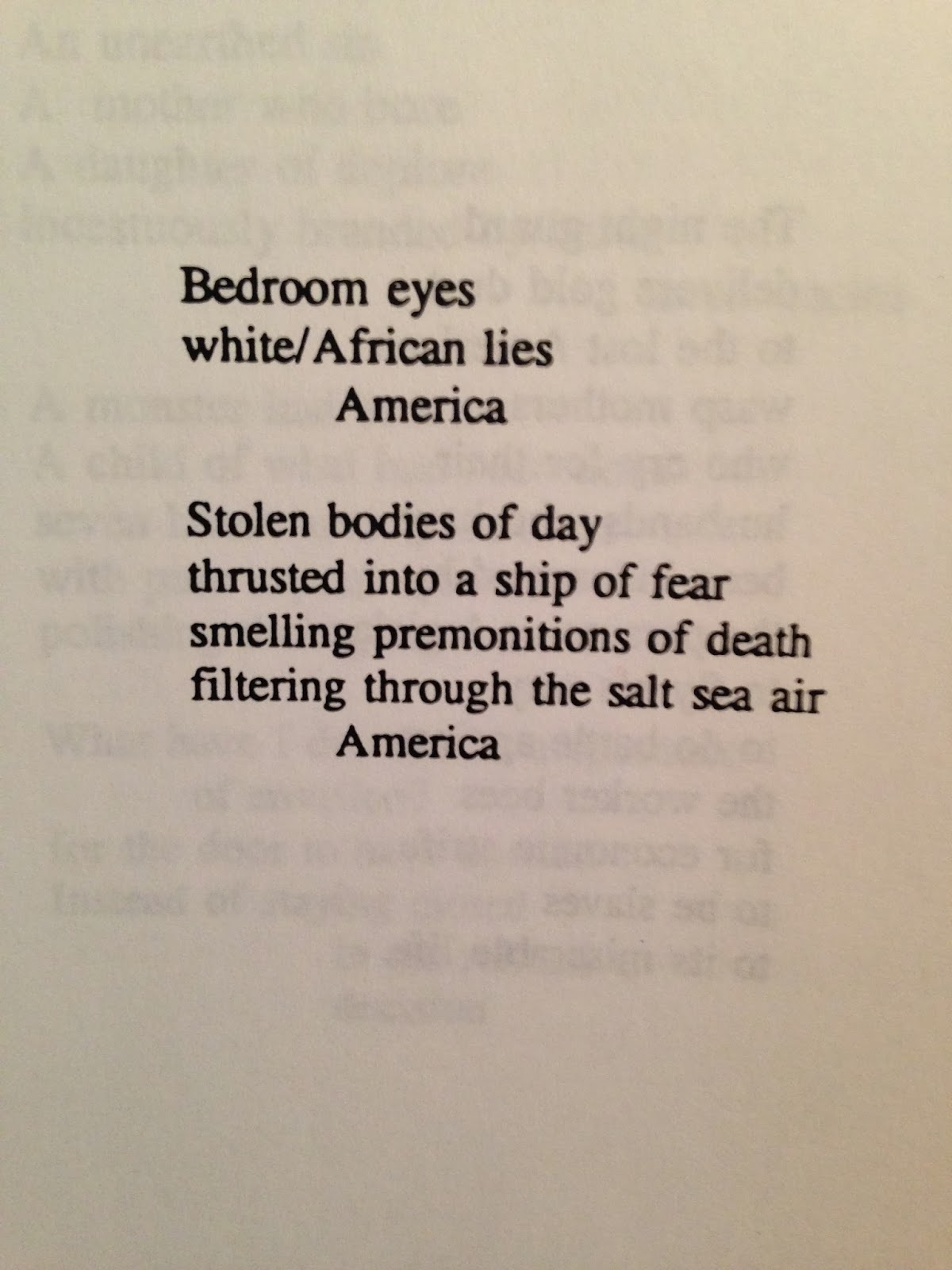 american historical past poems