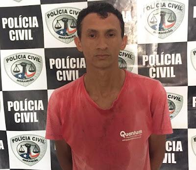 Pai é preso acusado de abusar sexualmente de filha de 3 anos em Nova Olinda do Maranhão