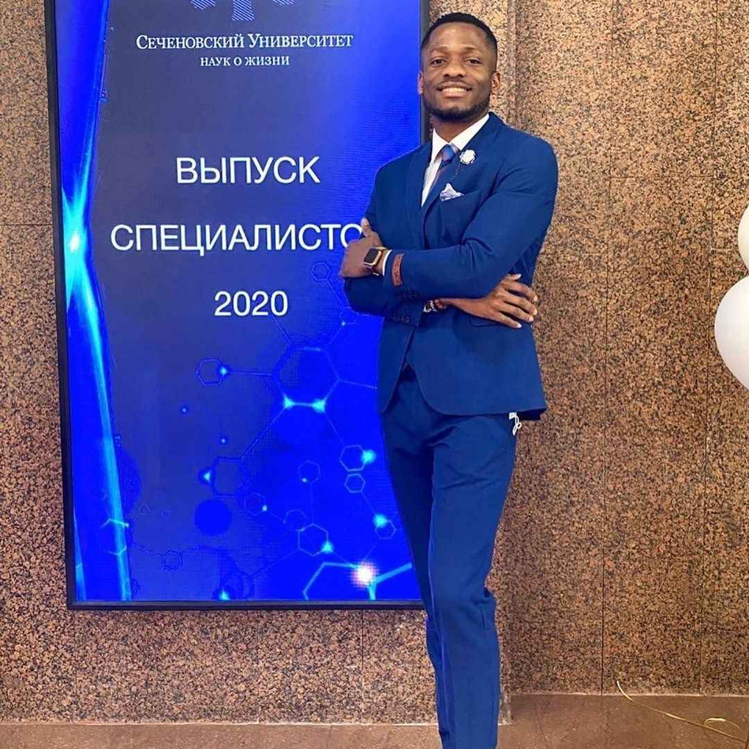 Nigerian Man Makes His Country Proud By Becoming Best Graduating Student In A Russian University (Photos) #Arewapublisize