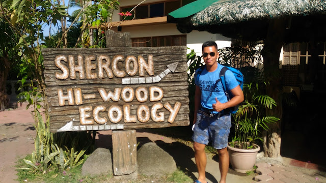 arriving at shercon resort