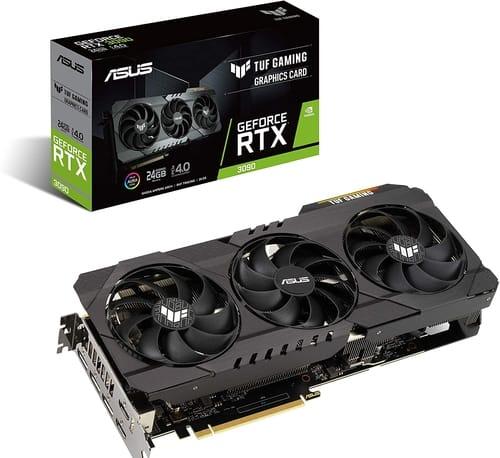 ASUS TUF Gaming NVIDIA GeForce RTX 3090 OC Edition