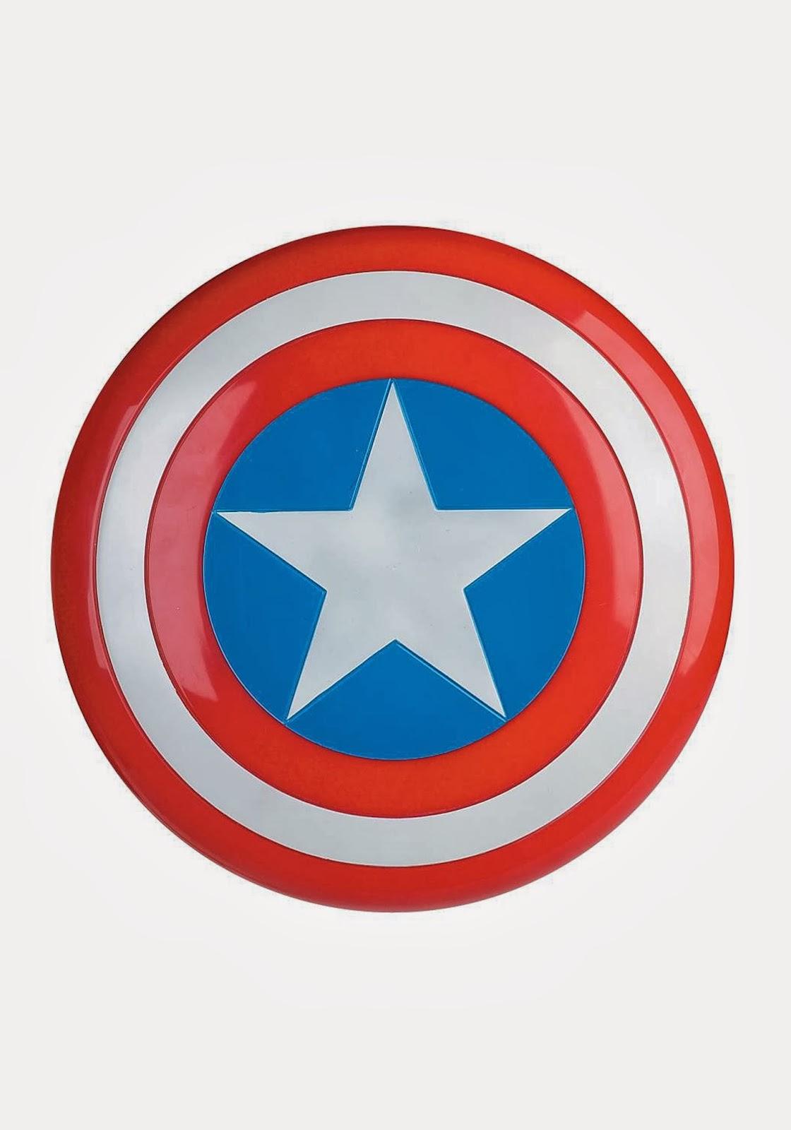 Escudo del Capitán América. | Ideas y material gratis para fiestas y ...