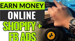 Earn money online with shopify and fb ads