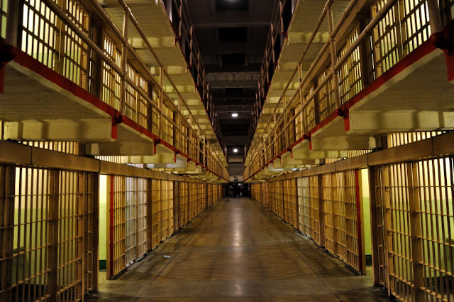 Check out the haunted Alcatraz Museum, known as one of the most haunted museum in California.