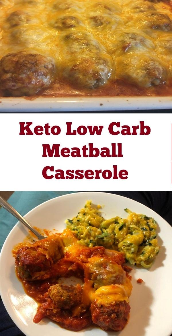 Keto Low Carb Meatball Casserole Recipe | Crock Pot Recipe | Keto Low Carb Recipe | Low Carb Casserole Recipe | Keto Low Carb Dinner Recipe #keto #lowcarb #meatball #casserole #sugarfree #ketocasserole #ketolowcarb #ketodinner #lowcarbdinner #healthydinner #dinner