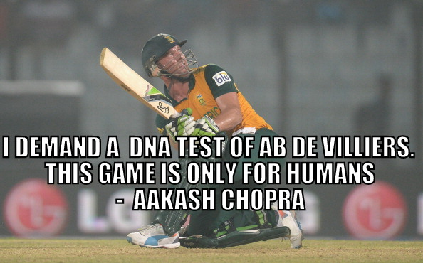 Is AB de Villiers the best cricketer ever?