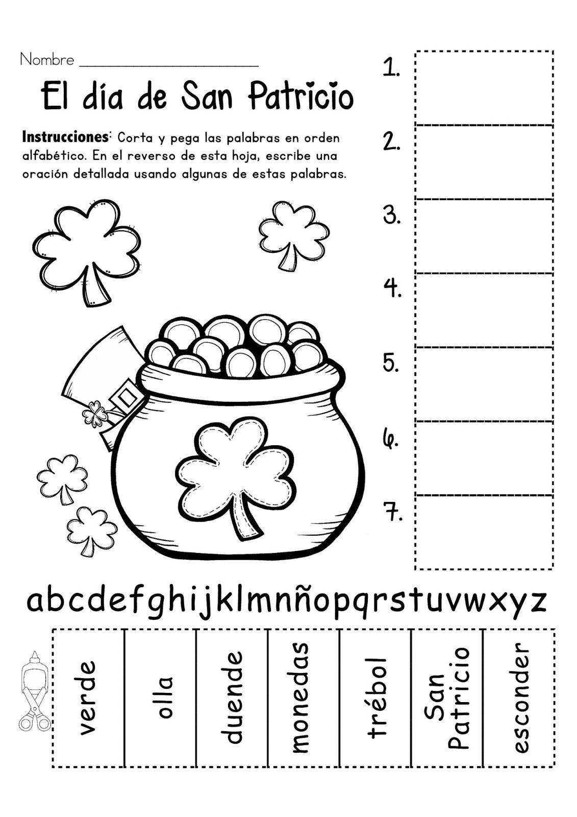 Encantador Crayola Para Colorear Para El Día De San Patricio ...