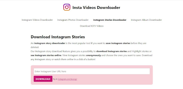 instagram story download online free