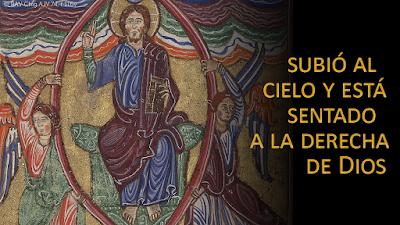 Evangelio según san Marcos (16, 15-20): Subió al cielo y está sentado a la derecha de Dios