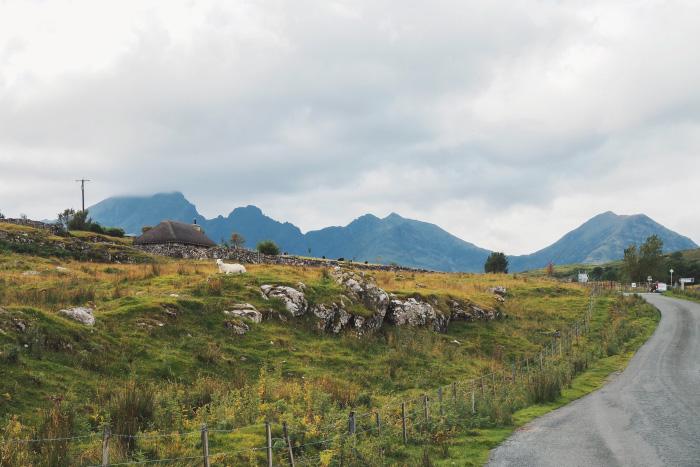 Promenade sur l'île de Skye en Ecosse
