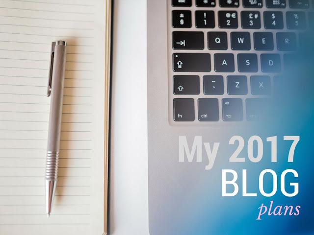 2017 Blog Plans