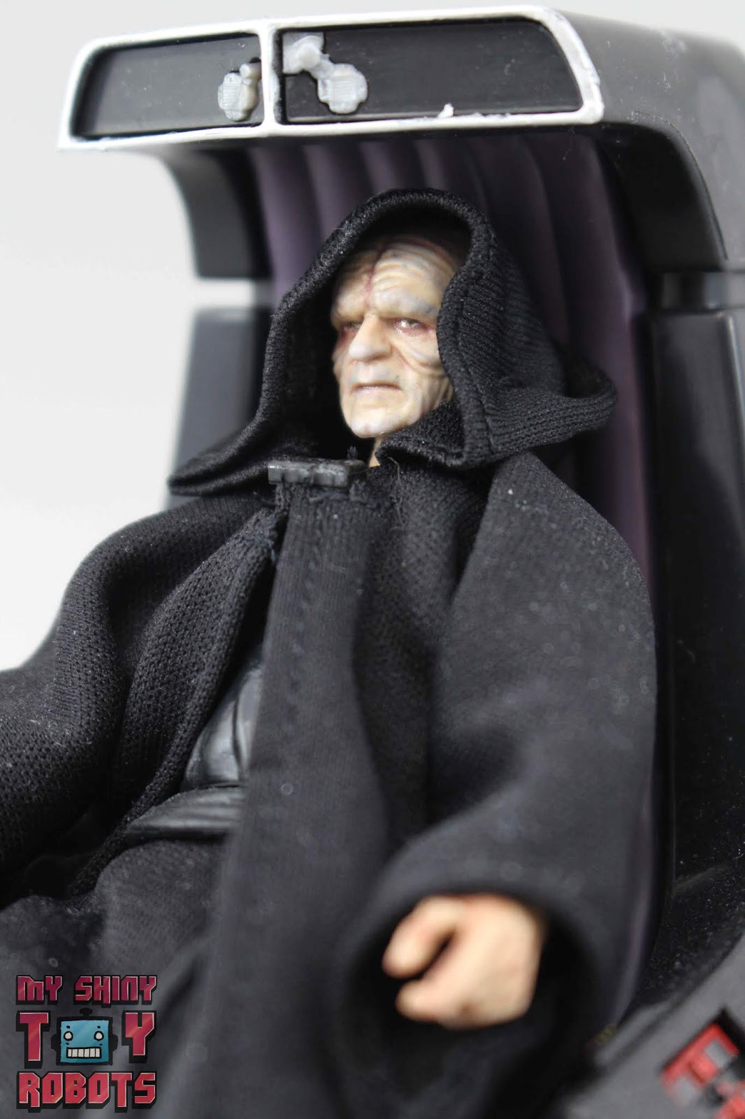 My Shiny Toy Robots Toybox Review Star Wars Black Series Emperor Palpatine Throne