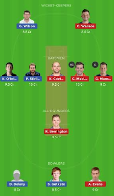 SCO vs IRE dream11 team | IRE vs SCO