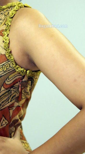 Madhu Shalini shaved armpit sleeveless naked shoulder xxx photo