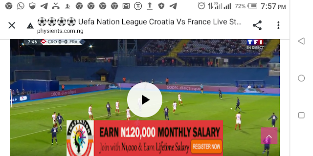 ⚽⚽⚽⚽ Uefa Nation League Croatia Vs France Live Streaming ⚽⚽⚽⚽