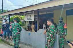 Anggota TNI Amankan Pilkades Serentak di Sanana