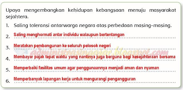 Kunci Jawaban Tema 6 Kelas 6 Halaman 89