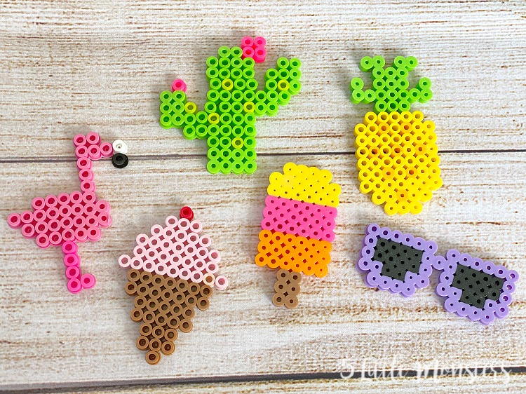 5 Little Monsters Summer Perler Bead Patterns,Tutorial Easy Nail Art Designs At Home For Beginners Without Tools