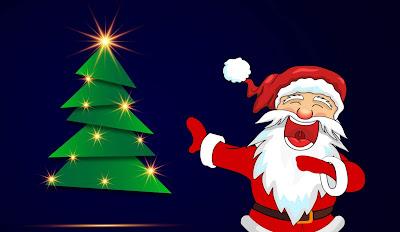 santa claus, christmas, laughter, funny,tree, background, backdrop, , white, merry , holidays, elegant, holiday, design, greeting, celebration, decorative, star,