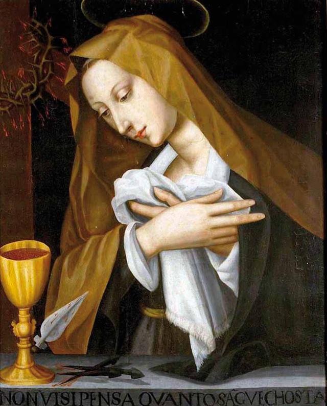 Pained Madonna, Plautilla Nelli