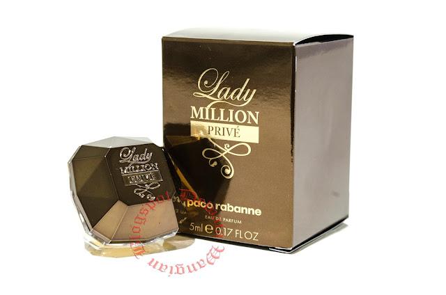 Paco Rabanne Lady Million Prive Miniature Perfume