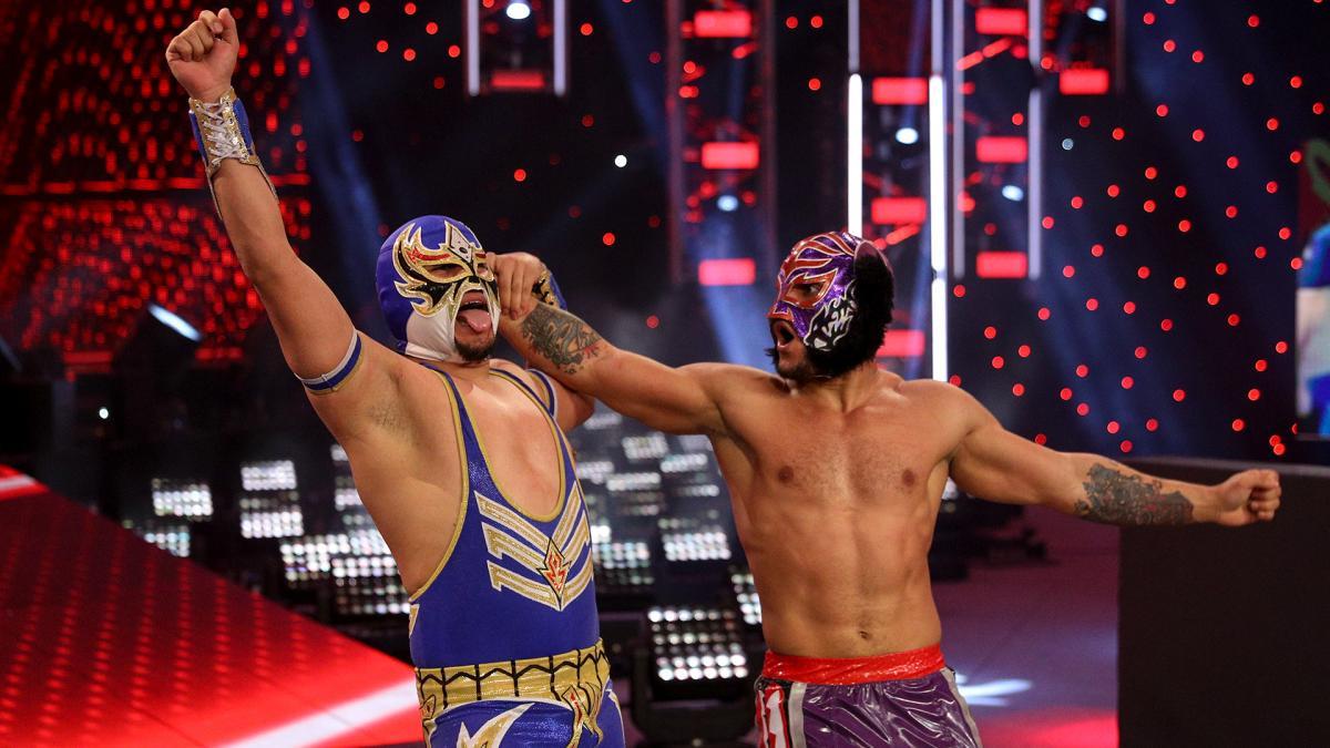 Gran Metalik e Lince Dorado estão infelizes na WWE