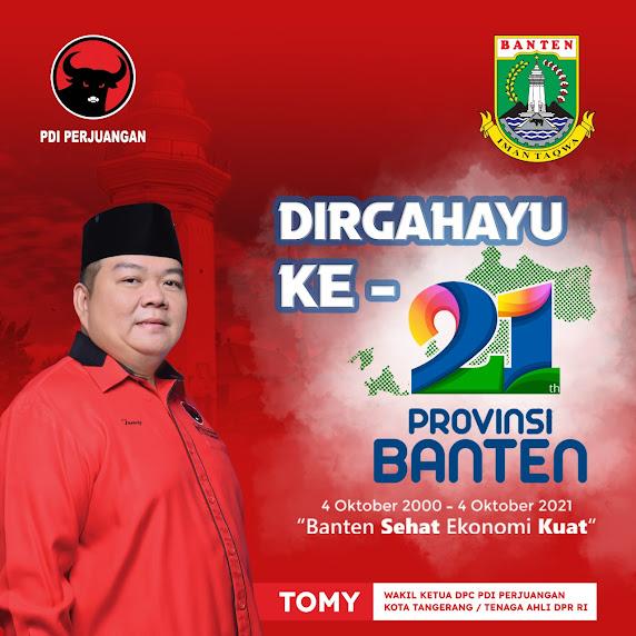 Dirgahayu Provinsi Banten Ke-21