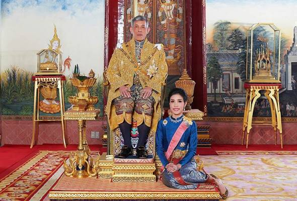 Permaisuri Di Racun,Raja Thailand lucut gelaran diraja peneman diraja?