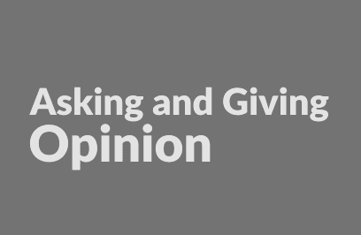 50 Soal Objective Asking and Giving Opinion