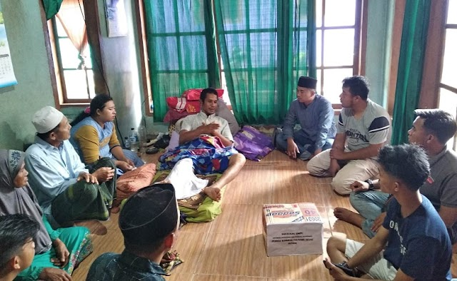 GMPC Kunjungi  Warga Terkena Musibah Tsunami