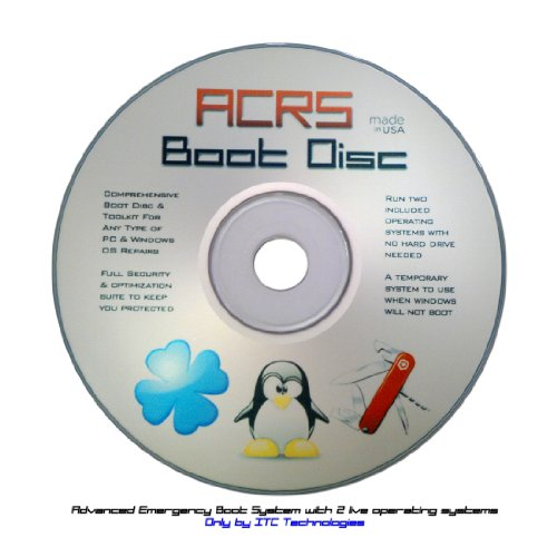 zenithcom: Ultimate Boot Disc CD - Advanced Repair & Recovery (ACRS