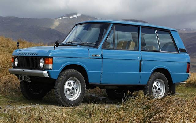 1970 Range Rover Classic là mẫu xe đầu tiên của phân khúc SUV hạng sang
