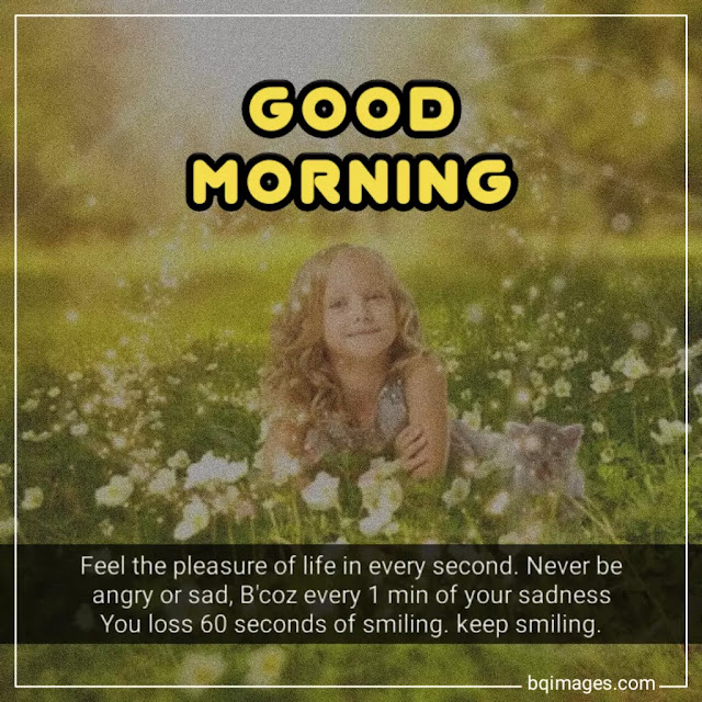 good morning keep smiling messages
