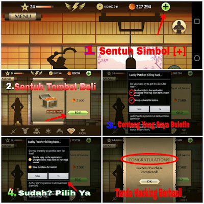 Cara Cheat Shadow Fight 2 Android