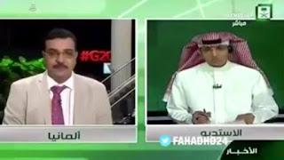 """مذيع القناة الإخبارية السعودية محمد ذيابي، العاصمة الألمانية """"هامبورغر"""""""