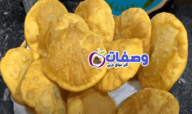 العيش البوري المنفوخ فاطمه ابو حاتي