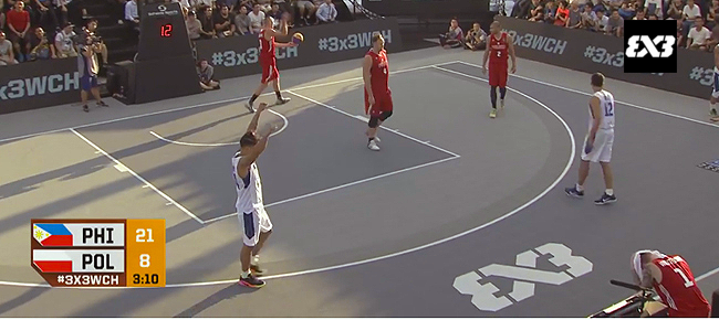 Philippines def. Poland, 21-8 (REPLAY VIDEO) 2016 FIBA 3x3 World Championships